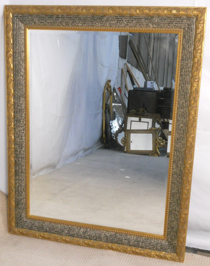 Hanging a framed mirror